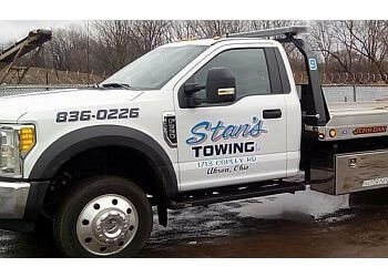 Akron towing company Stan's Towing Company