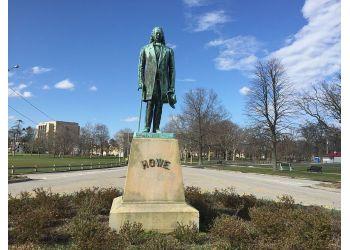 Bridgeport landmark Statue of Elias Howe