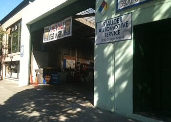 Oakland car repair shop Stauder Automotive Services