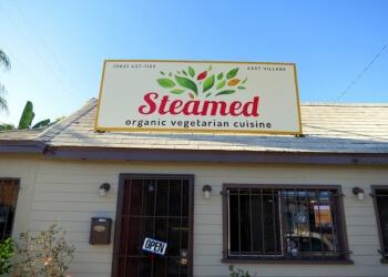 Long Beach vegetarian restaurant steamed organic vegetarian cuisine