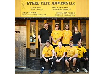 Pittsburgh moving company Steel City Movers L.L.C.