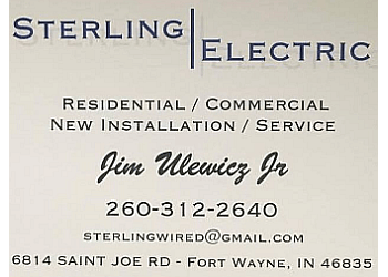 Fort Wayne electrician Sterling Electric