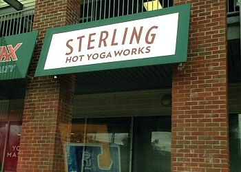 Lexington yoga studio Sterling Hot Yoga Works Lexington