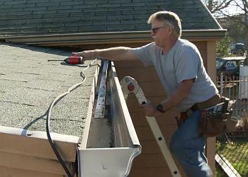 Sacramento gutter cleaner Steve Brandt Rain Gutters
