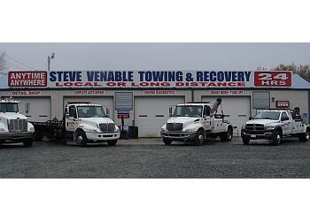 Winston Salem towing company STEVE VENABLE WRECKER SERVICES
