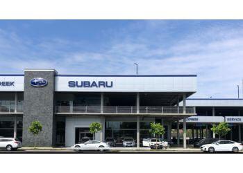 San Jose car dealership Stevens Creek Subaru