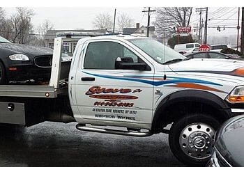 Yonkers towing company Steve's towing