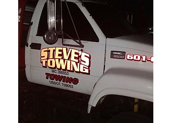 Jackson towing company Steve's towing service