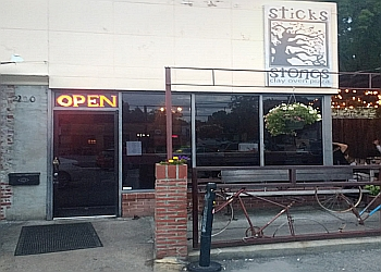 Greensboro pizza place Sticks & Stones