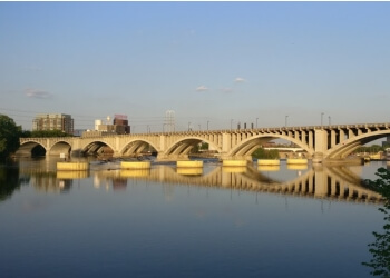 Minneapolis landmark Stone Arch Bridge
