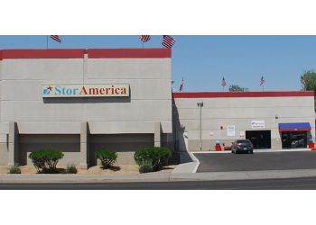 Phoenix storage unit StorAmerica Self Storage