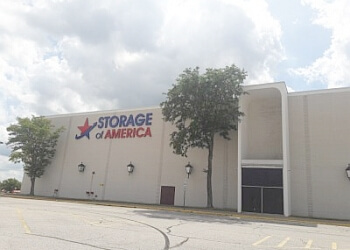 Akron storage unit Storage of America LLC