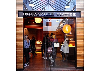 Seattle cafe Storyville Coffee Pike Place