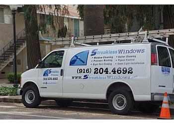 Sacramento window cleaner Streakless Window & Gutter Cleaning