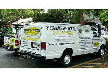 Hollywood electrician Streamline Electric, Inc.