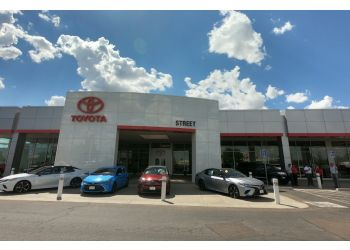 Amarillo car dealership Street Toyota