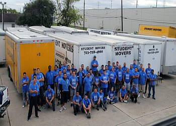 Houston moving company Student Movers, Inc.