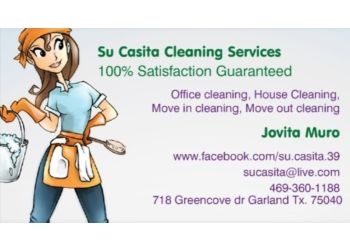 Garland house cleaning service Su Casita Cleaning Services