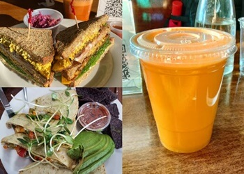 Jersey City vegetarian restaurant Subia's Organic Cafe