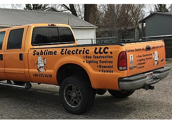 Boise City electrician Sublime Electric LLC