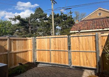 Chicago fencing contractor Suburban Fence Inc.