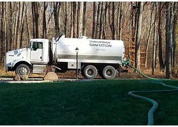 Columbus septic tank service Suburban Sanitation