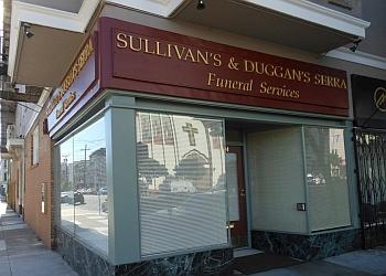 San Francisco funeral home Sullivan's and Duggan's Serra Funeral Services