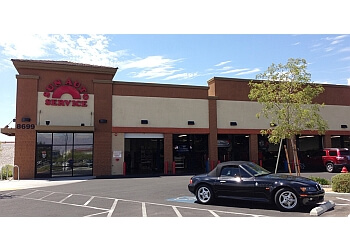 Las Vegas car repair shop Sun Auto Service