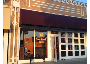 Orange yoga studio SunSpark Yoga