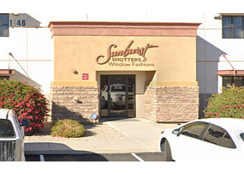 Mesa window treatment store Sunburst Shutters & Window Fashions