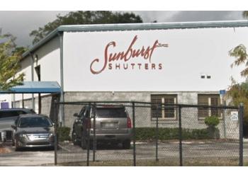 Orlando window treatment store Sunburst Shutters & Window Fashions