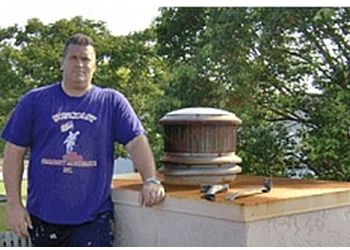 Tampa chimney sweep Suncoast Fireplace, Chimney & Dryer Vent Cleaning