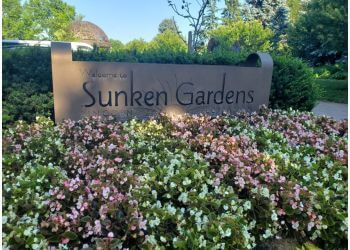Lincoln places to see Sunken Gardens