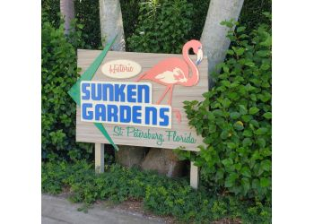 St Petersburg places to see Sunken Gardens