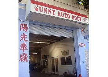 San Francisco auto body shop Sunny Auto Body