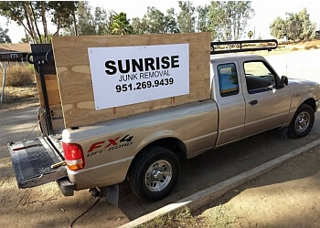 Moreno Valley junk removal Sunrise Junk Removal & Hauling