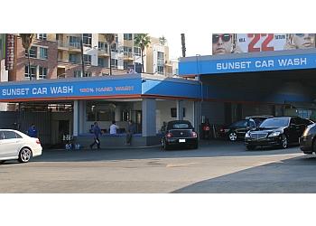 Los Angeles auto detailing service Sunset Car Wash
