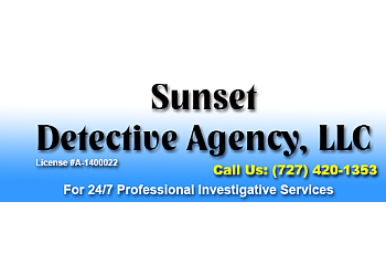 St Petersburg private investigation service  Sunset Detective Agency, LLC