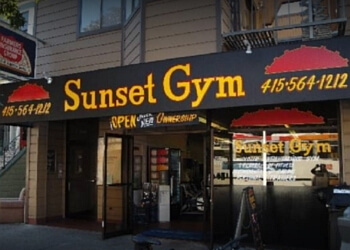San Francisco gym Sunset Gym