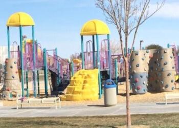 Victorville public park Sunset Ridge Park
