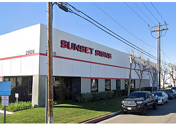 Anaheim sign company Sunset Signs