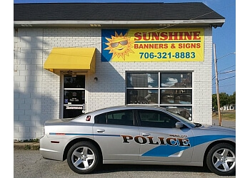 Columbus sign company Sunshine Banners and Signs