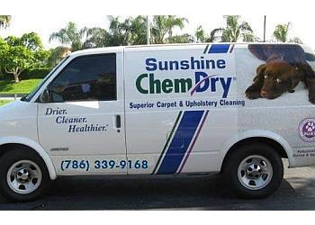Miami carpet cleaner Sunshine Chem-Dry