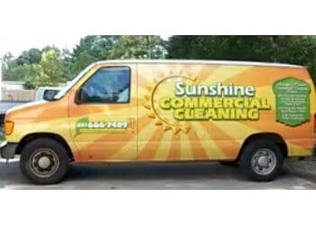Mobile commercial cleaning service Sunshine Commercial Cleaning Inc.