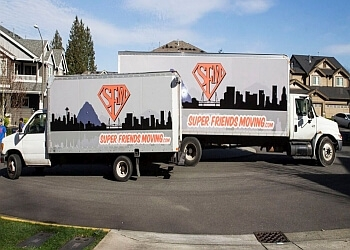 Seattle moving company Super Friends Moving