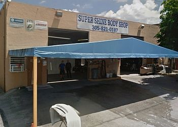 Hialeah auto body shop Super Shine Body Shop