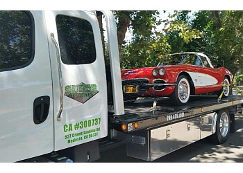 Modesto towing company SUPER TOWING