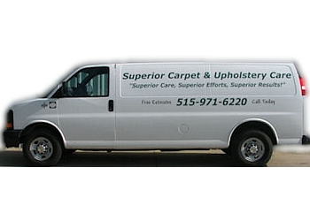Des Moines carpet cleaner Superior Carpet & Upholstery Care