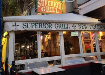 New Orleans mexican restaurant Superior Grill