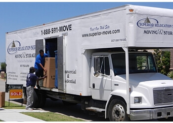 Grand Prairie moving company Superior Relocation Services